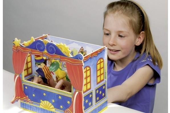 Marionetele în viața copiilor